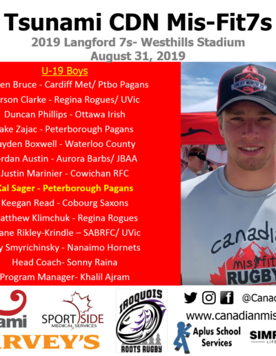 Langford 7s- Aug 2019
